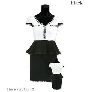 dazzy store - ティカ ペプラム ドレス