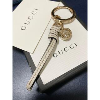 Gucci - 極美品 正規品 グッチ キーリング レディース GUCCI  ホワイト