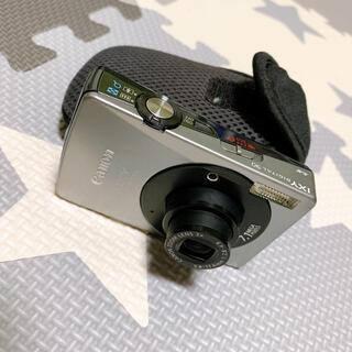 キャロン(CARON)の【ジャンク品扱い】デジタルカメラ canon IXY(コンパクトデジタルカメラ)
