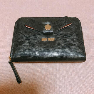 MARY QUANT - MARY QUANT  マリークワント 定期入れ ミニウォレット 財布