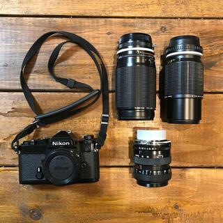 Nikon - 【フィルムカメラ】Nikon FE レンズ3本セット