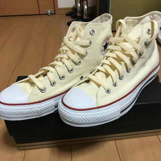 CONVERSE - converse ハイカット キナリ 26.0