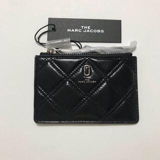 マークジェイコブス(MARC JACOBS)の新品 marc jacobs カードケース コインケース  ブラック(コインケース)