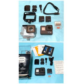 GoPro - GoPro HERO6 BLACK  バッテリー2個+ダイブハウジング付