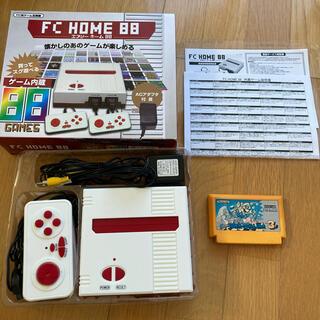 ファミリーコンピュータ - FC home 88 ファミコン本体とマリオブラザーズ3