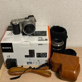 SONY - SONY α6000 ソニー  ミラーレス一眼 デジカメ