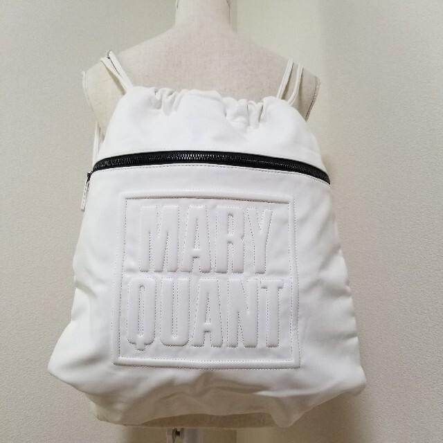 MARY QUANT(マリークワント)の【極美品】MARY QUANT リュック レディースのバッグ(リュック/バックパック)の商品写真