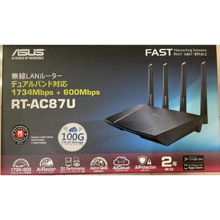 ASUS - 無線LANルーター デュアルバンド対応 ASUS RT-AC87U