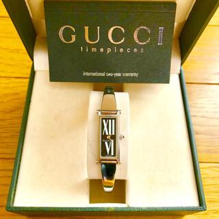 Gucci - 【大特価!!】グッチ バングル腕時計 1500L 花柄 春 ホワイトデー🎀