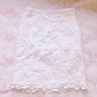 PROPORTION BODY DRESSING - ♡プロポーションレースタイトスカート♡