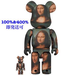 メディコムトイ(MEDICOM TOY)のBE@RBRICK   モナリザ 100%&400%セット(キャラクターグッズ)