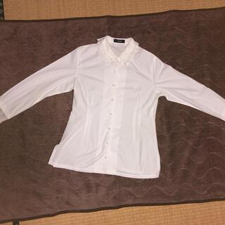 プードゥドゥ(POU DOU DOU)の白 レースブラウス(シャツ/ブラウス(長袖/七分))