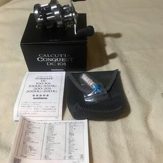 SHIMANO - 20カルカッタコンクエストDC101ノーマルギア(美品)