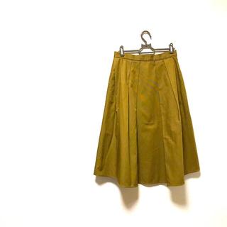ボールジィ(Ballsey)のボールジィ ゴールドカーキーのフレアスカート(ひざ丈スカート)