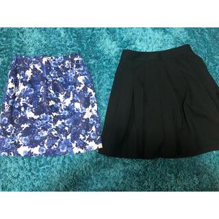 コムサイズム(COMME CA ISM)のコムサイズム スカート2種(ひざ丈スカート)