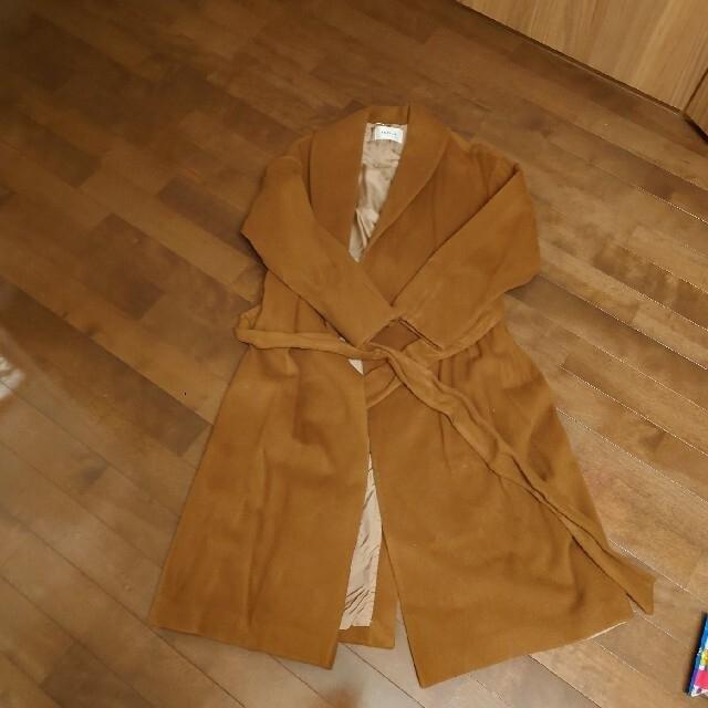 FRAY I.D(フレイアイディー)のFRAY ID ウールガウンコート レディースのジャケット/アウター(ロングコート)の商品写真