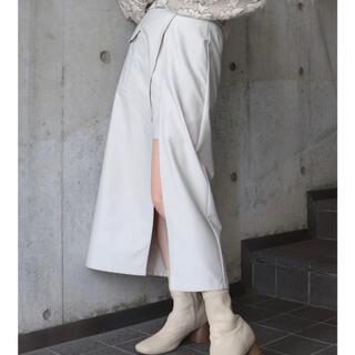 MURUA - MURUA アウトポケットラップスカート