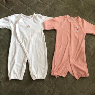 アカチャンホンポ(アカチャンホンポ)の赤ちゃん本舗 カバーオール2枚セット 女の子(カバーオール)