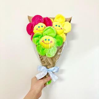 韓国 ぬいぐるみ花束 韓国インテリア スマイルフラワー 韓国雑貨 プレゼント