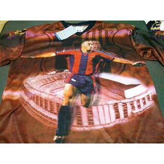 ブラジル代表 ロナウド バルセロナ フォト シャツ 新品(ウェア)