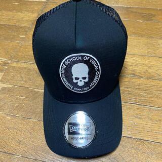 ナンバーナイン(NUMBER (N)INE)のナンバーナインキャップ帽 ブラック(キャップ)