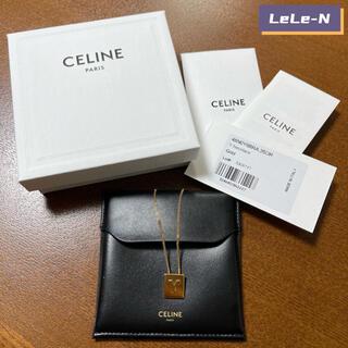 セリーヌ(celine)のCELINE<新品レシート付き>アルファベットネックレス(ネックレス)