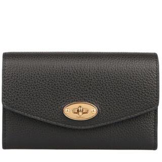 マルベリー(Mulberry)のマルベリー Medium Darley Wallet 財布ブラック 新品(財布)