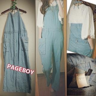 ページボーイ(PAGEBOY)の2着セット売りPAGEBOY GRLオールインワンサロペットM(オールインワン)