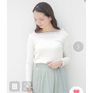 flower - flower ゴージャスレーストップ gorgeous lace top