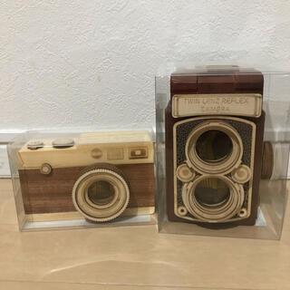 カルディ(KALDI)のカルディ カメラ【木箱】【木製】 セット販売(小物入れ)