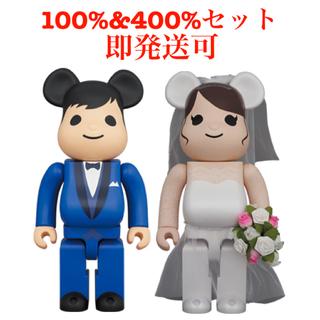 メディコムトイ(MEDICOM TOY)のBE@RBRICK グリーティング結婚 4 PLUS 100% 400%セット(その他)