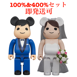 MEDICOM TOY - BE@RBRICK グリーティング結婚 4 PLUS 100% 400%セット