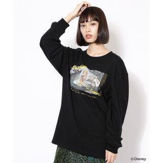 ローズバッド(ROSE BUD)の【美品】CREOLME  グラフィックロングTシャツ(Tシャツ/カットソー(七分/長袖))
