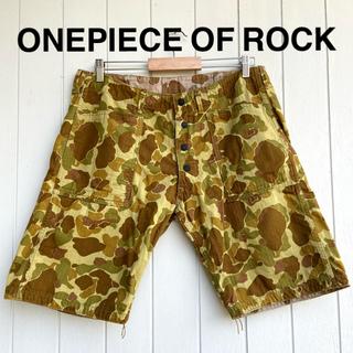 フリーホイーラーズ(FREEWHEELERS)の美品 ONE PIECE OF ROCK ワンピースオブロック ハーフパンツ(ショートパンツ)