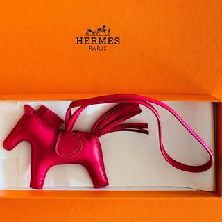 Hermes - HERMES エルメス ロデオチャーム 新品未使用品 ローズメキシコ 貴重品