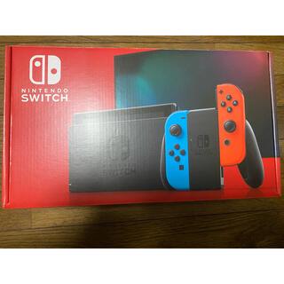 Nintendo Switch - 新型Nintendo Switch 本体  ネオンブルー ネオンレッド