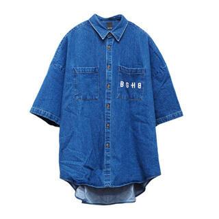 バガーチ デニムオープンシャツ(シャツ)