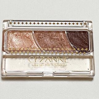 CEZANNE(セザンヌ化粧品) - セザンヌ トーンアップアイシャドウ 02 ローズブラウン