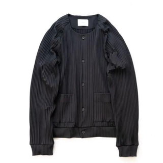 SUNSEA - stein 21ss pleated knit cardigan