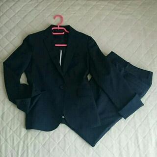 オリヒカ(ORIHICA)の【美品・送料込】ネイビーパンツスーツ(5号×7号)(スーツ)