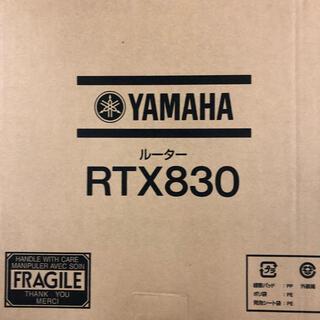 ヤマハ - 新品 未使用 Yamaha rtx830