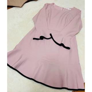 evelyn - YOCO ♡ フリルワンピース ピンク