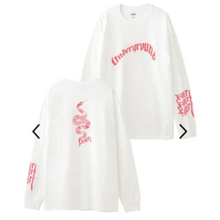エックスガール(X-girl)のX-girl スネーク ロンT(Tシャツ(長袖/七分))