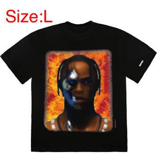 カクタス(CACTUS)のTravis Scott T-3500 PORTRAIT Tシャツ L(Tシャツ/カットソー(半袖/袖なし))