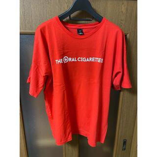 the oral cigarettes オーラル アリーナツアー ビッグTシャツ(ミュージシャン)