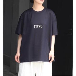 stein  Print Tee-TYPOGRAPHY- サイズL