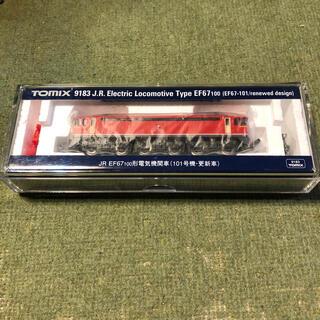 ジェイアール(JR)の鉄道模型 トミー JR貨物 EF67 101 電気機関車・更新車(鉄道模型)