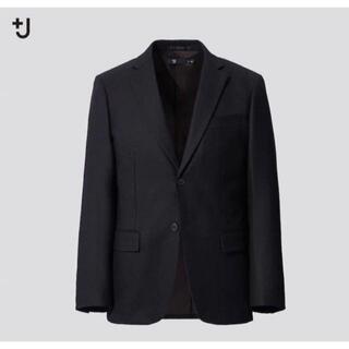 UNIQLO - UNIQLO +J ウールテーラードジャケット セットアップ可能 M BLACK