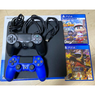 PlayStation4 - ps4 本体+ソフト2本+コントローラー