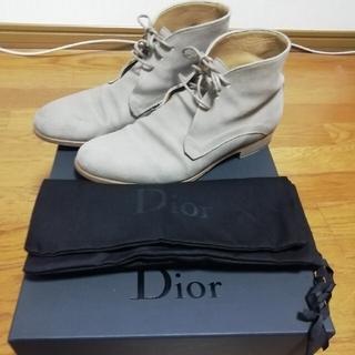 DIOR HOMME - Dior Homme ディオールオム ブーツ スェード